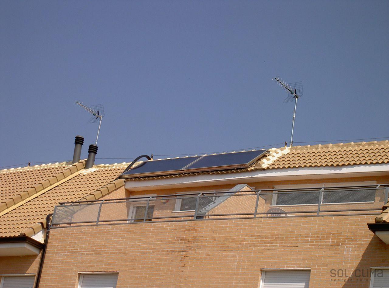 Instalaci n energ a solar agua caliente solar en madrid - Energia solar madrid ...
