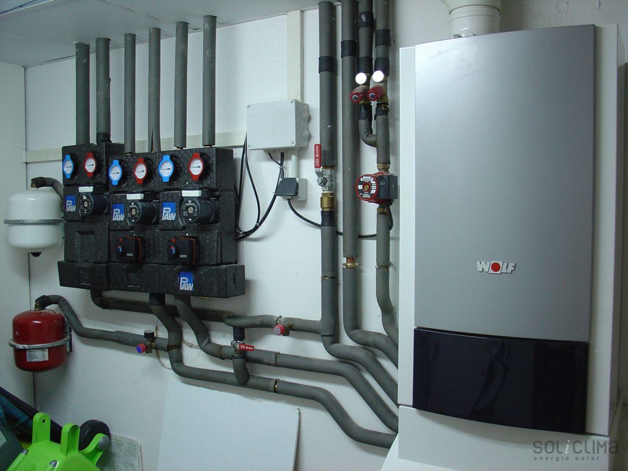 Solucion a los cortes de electricidad - Calderas para suelo radiante ...