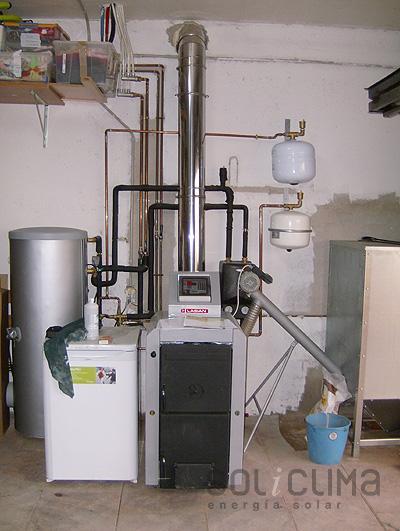 Calderas biomasa - Poner chimenea en un piso ...