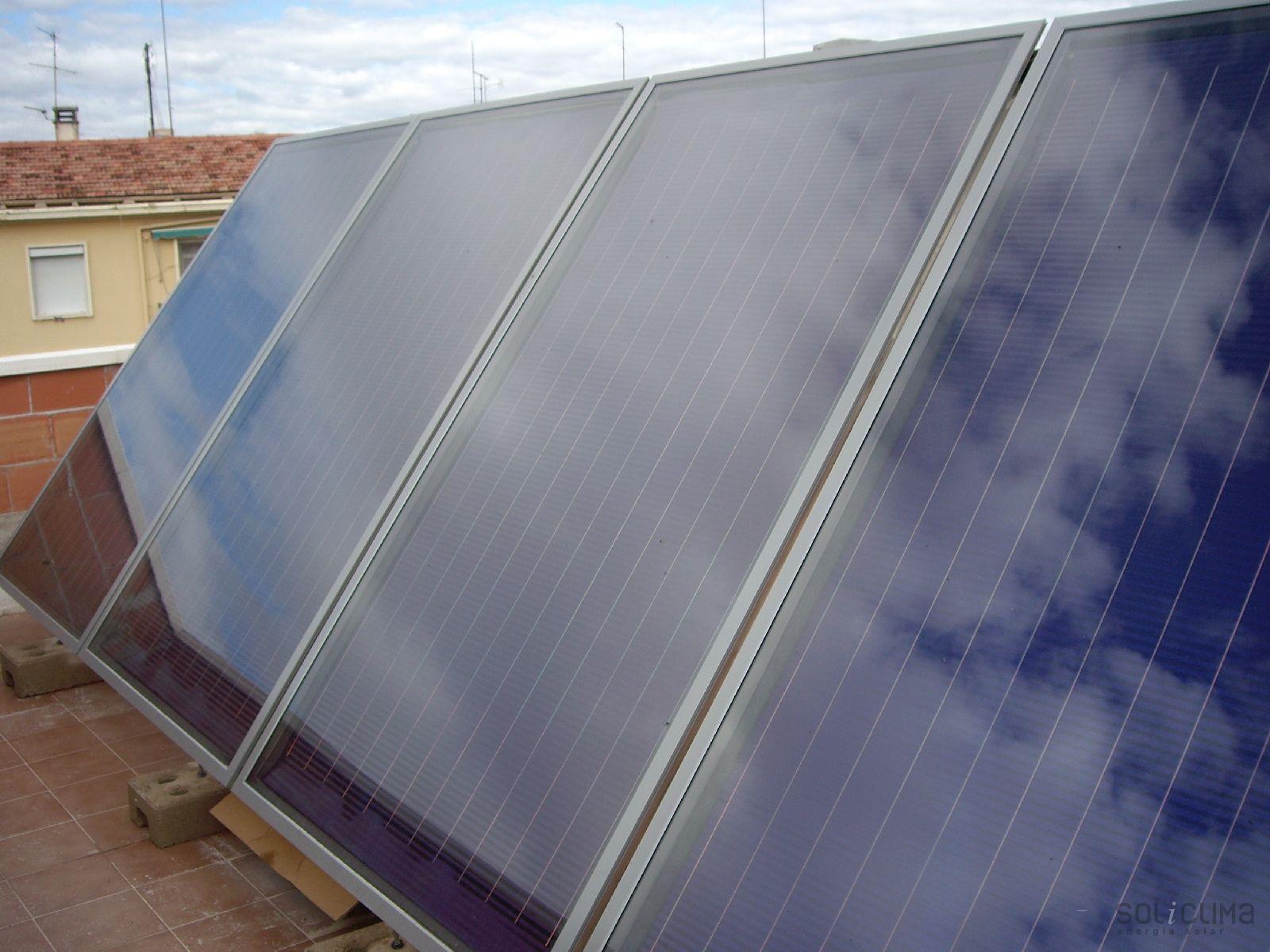 Instalaciones calefacci n solar 1 - Sistemas de calefaccion bajo consumo ...
