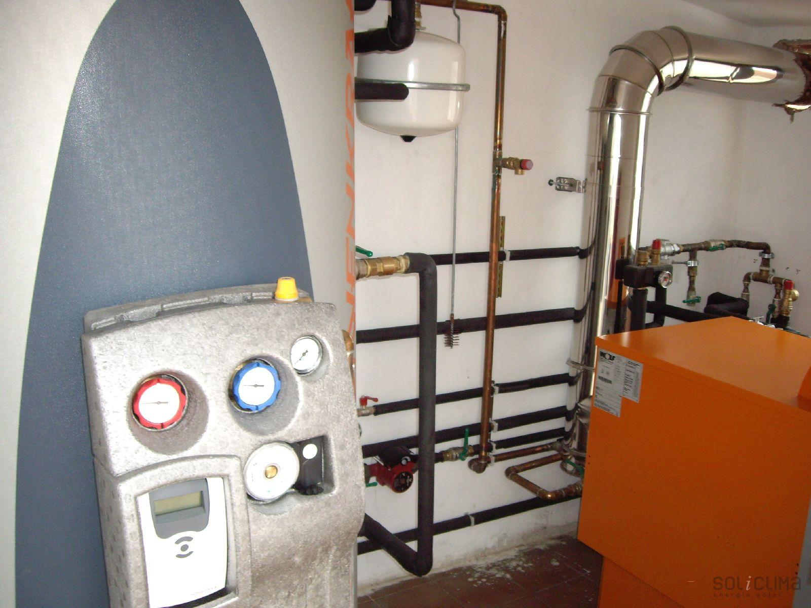 Energ a solar zaragoza - Caldera no calienta agua si calefaccion ...