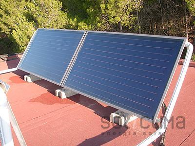 Calefacci n solar y climatizaci n de piscina - Sistemas de calefaccion bajo consumo ...