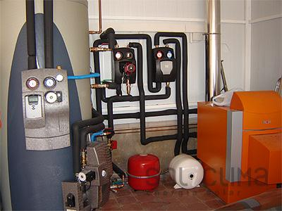 Calderas de baja temperatura - Caldera no calienta agua si calefaccion ...