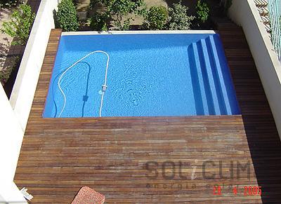 Instalacion destacada climatizacion piscinas barcelona - Piscina en barcelona ...