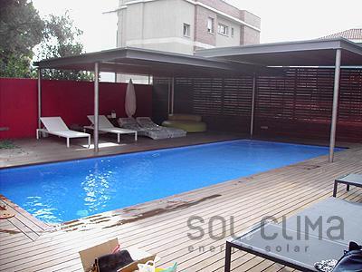 Agua solar en navarra for Climatizar piscina