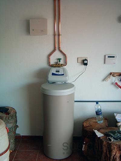 Descalcificaci n de agua for Precio instalacion descalcificador