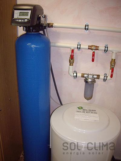 Instalaciones descalcificaci n de agua 1 for Precio instalacion descalcificador
