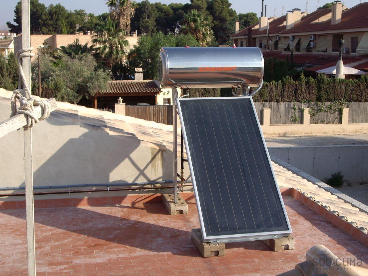 Energ a solar en petrer - Agua caliente solar ...