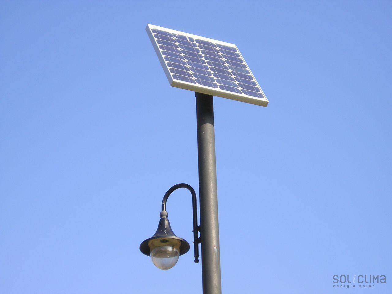 Farolas solares - Farolas led solares ...