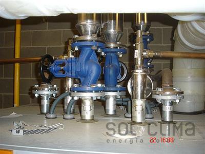 Instalacion destacada calderas industriales de gas - Calderas en barcelona ...