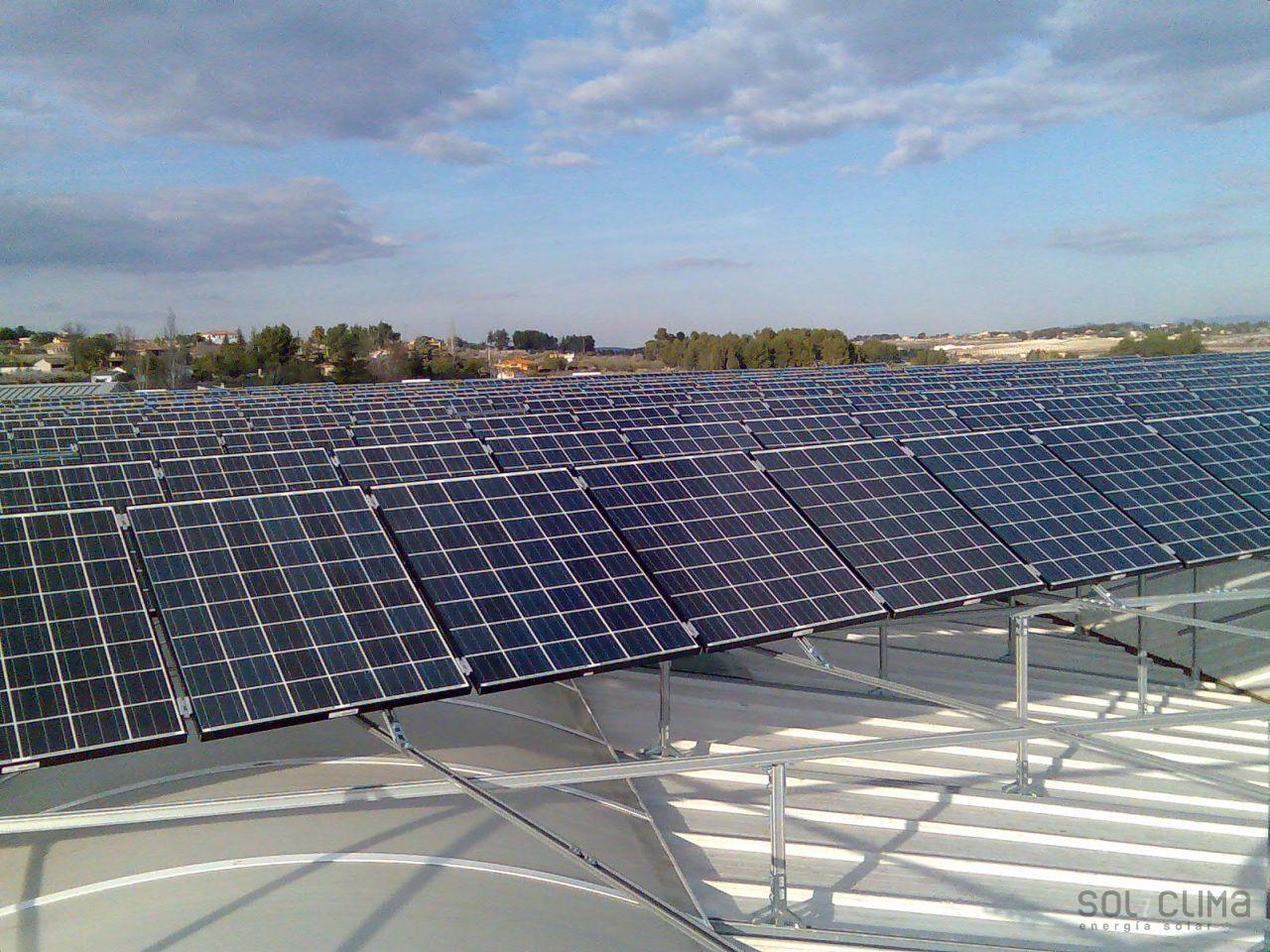 Instalacion destacada fotovoltaica madrid - Energia solar madrid ...