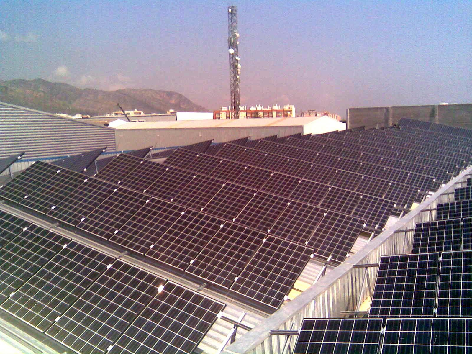 Instalacion de paneles solares for Tejados solares