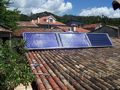 Instalacion destacada climatizacion solar piscinas ourense for Piscinas en ourense