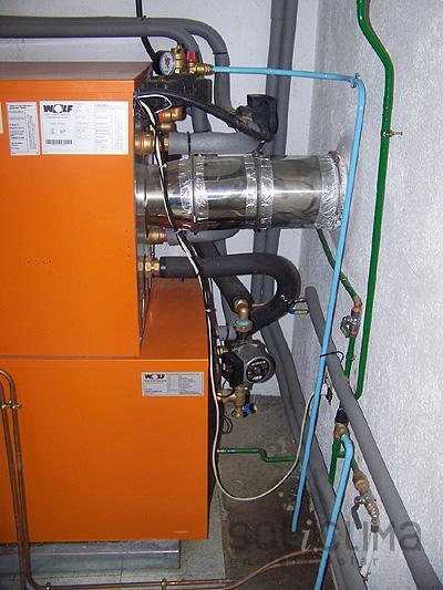 Caldera de alto rendimiento for Calderas calefaccion lena alto rendimiento