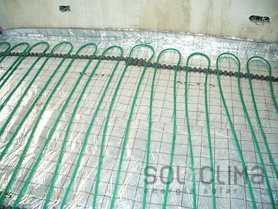 Calefacci n por suelo radiante en alcobendas for Presupuesto suelo radiante