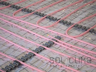 Suelo radiante barcelona for Presupuesto suelo radiante