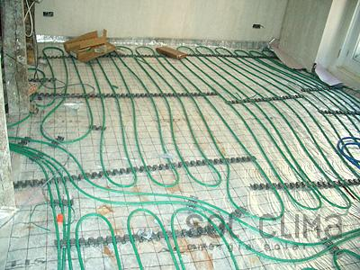 Calefacci n por suelo radiante en alcobendas - Calefaccion por hilo radiante ...