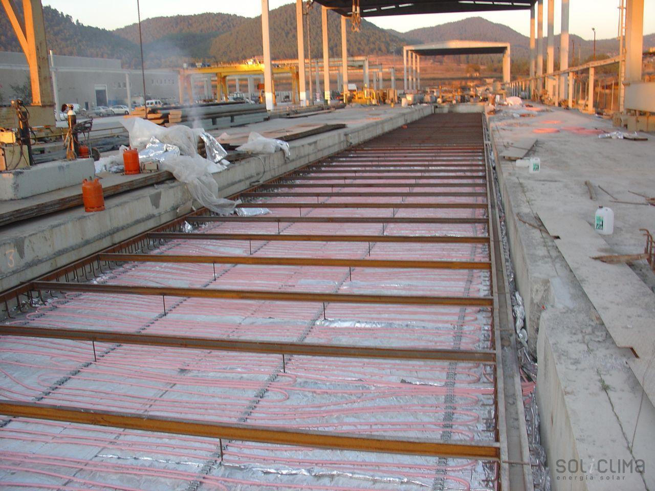Instalacion destacada suelo radiante para procesos - Instalacion suelo radiante ...