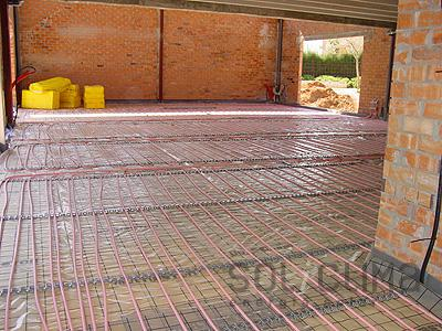 Instalacion destacada suelo radiante solar - Instalacion suelo radiante ...