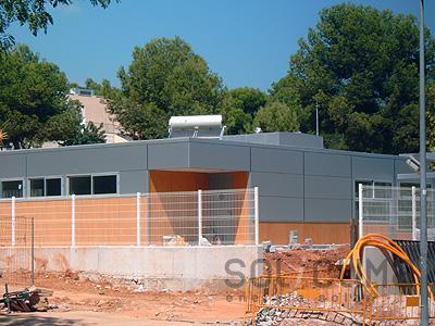 Termosif n para agua caliente for Placas solares barcelona