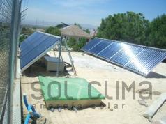 Calefaccion solar en Madrid