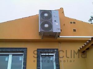 Casa eficiente mediante sistema integrado