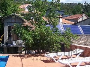 Climatización solar de piscina en Ourense
