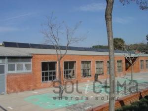 Energia solar en Escuela
