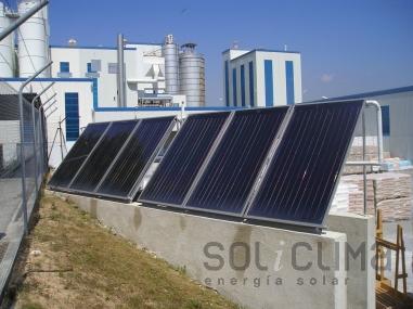 Agua solar industrial