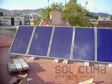Agua caliente solar en Navarra