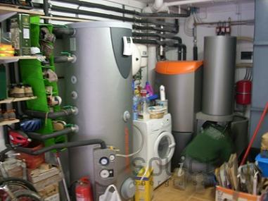 Caldera de biomasa en Sant Boi