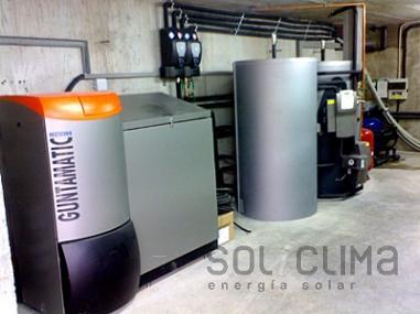Calderas  biomasa Barcelona
