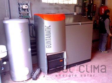 calderas biomasa Girona