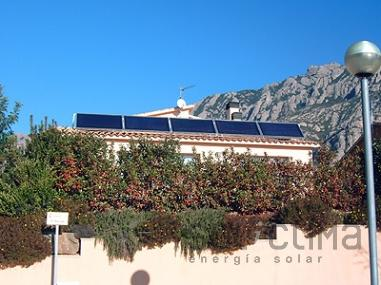 Calefaccion solar en Barcelona