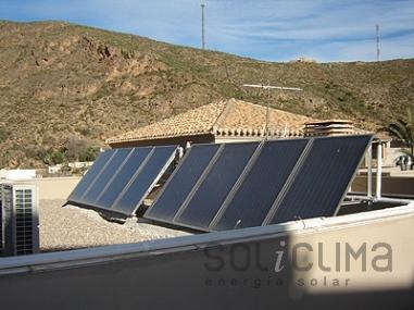 Calefaccion solar en Almería