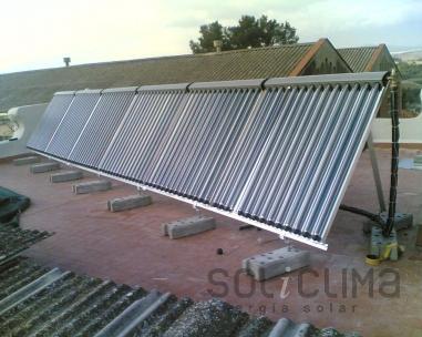 Calefaccion solar en Ciudad Real
