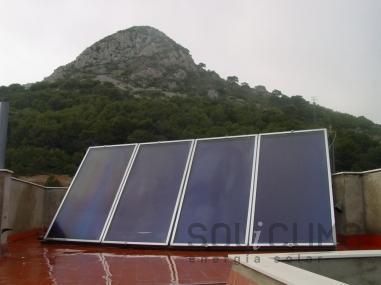 Calefaccion solar en Pontevedra