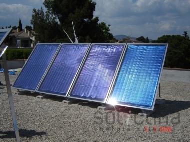 climatización solar en Navarra