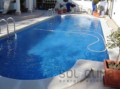 Climatización de piscinas en Girona