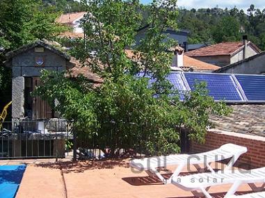 Climatizacion solar para piscinas en Ourense