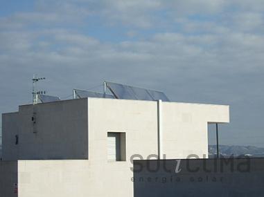 Colectores solares en Lleida