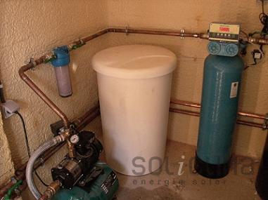 Descalcificación de agua en Barcelona