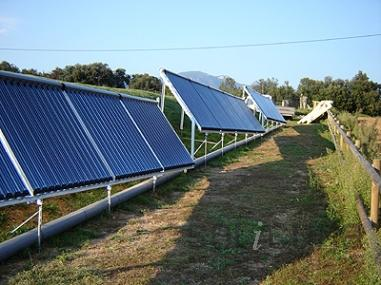 Energía solar en Besalu