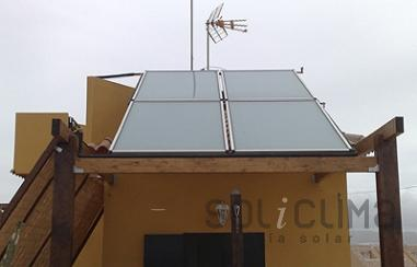 Energia solar para hoteles en Bolnuevo, Murcia