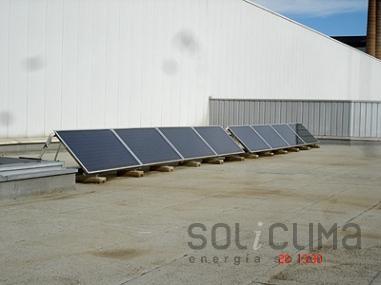 Energia solar aplicada a la industria