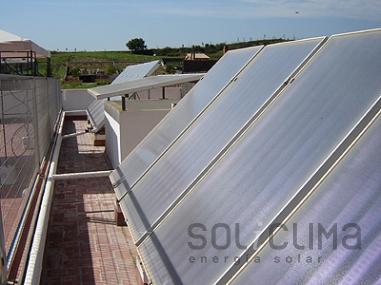 Energia solar invierno
