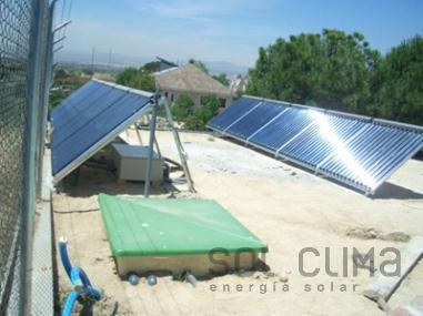 Energia solar Madrid
