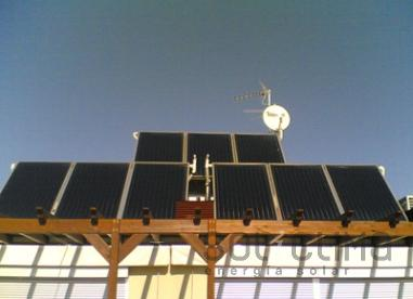 Energía solar para pisos de Calafell