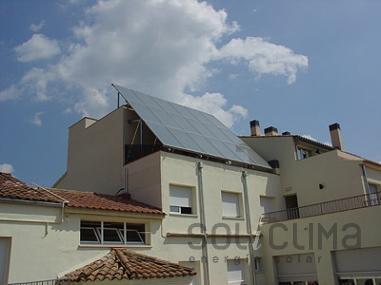 Energía solar en residencia de ancianos