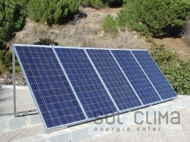 Fotovoltaica aislada en Murcia